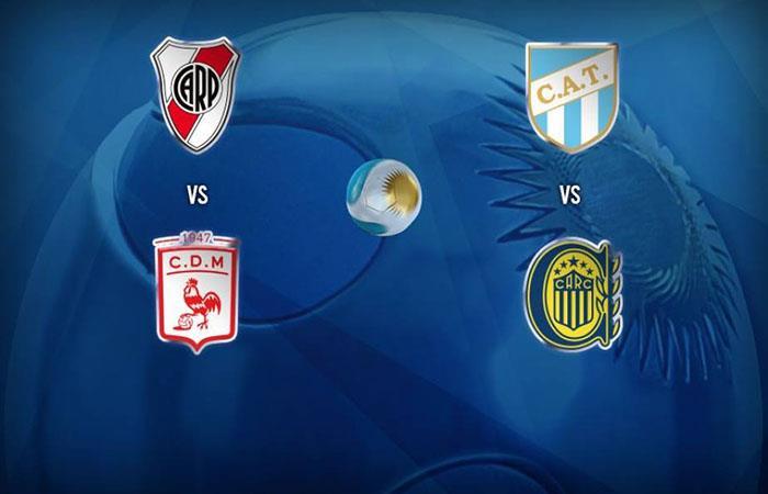 Así quedaron los cruces de semifinales de Copa Argentina. Foto: Facebook