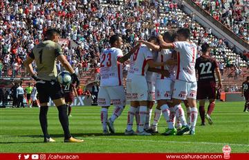 Huracán golea a Lanús y se coloca tercero en la Superliga