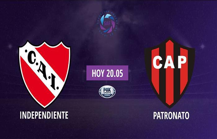 Independiente recibe a Patronato por la séptima fecha de la Superliga desde las 20:05. (FOTO: Facebook Superliga)