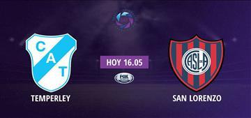San Lorenzo derrotó a Temperley por 2-1