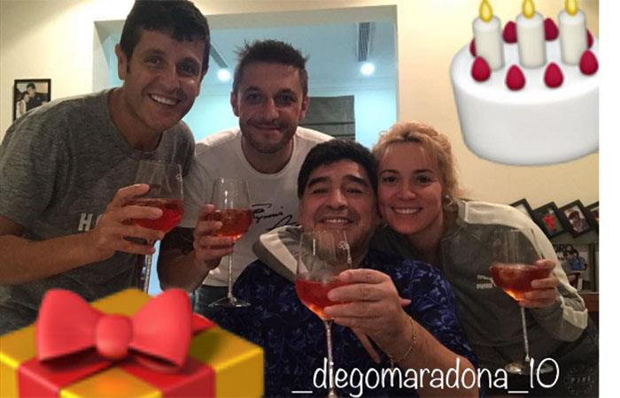 Diego Maradona. Foto: Instagram
