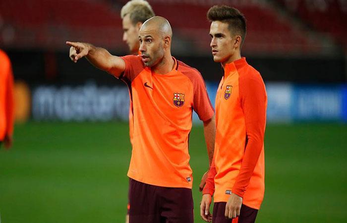 Mascherano en duda para jugar hoy con el Barcelona. (FOTO: Facebook Barcelona)