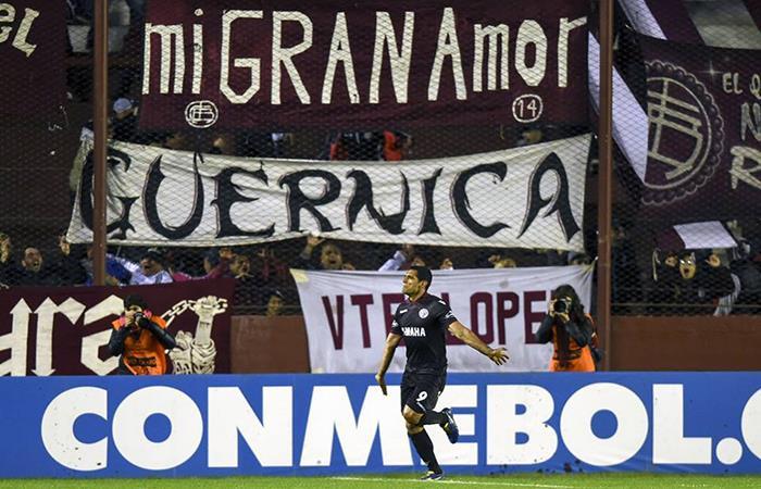 Lanús clasificó a la final de la Libertadores y resta importancia a reclamos de River. (FOTO: Facebook Lanús)