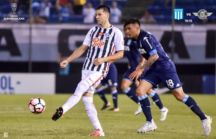 Racing busca remontar el 1-0 sufrido en la ida. (FOTO: Facebook Conmebol Sudamericana)