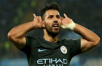 Sergio Agüero se convirtió en el goleador histórico del Manchester City