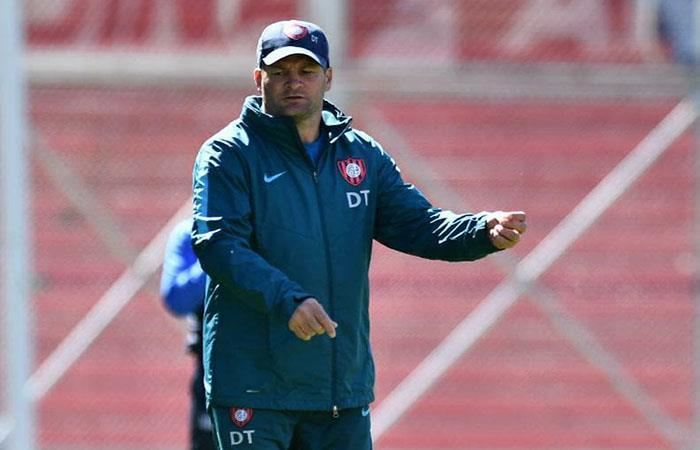 """Claudio Biaggio: """"No es fácil dirigir a San Lorenzo"""""""