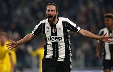Con Gonzalo Higuaín en la cancha Juventus ganó 2-1 al Benevento