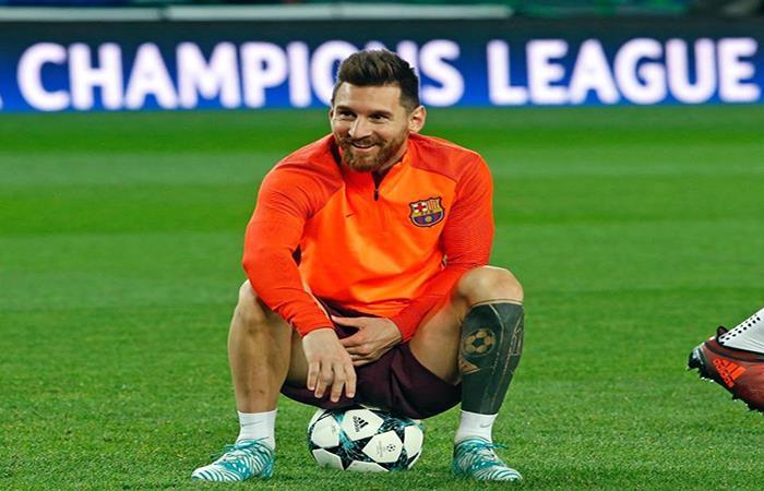 Lionel Messi. (FOTO: Facebook Barcelona)