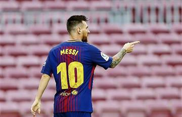 Lionel Messi regresa a Barcelona