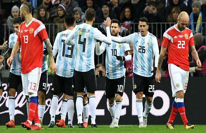 Argentina inició con triunfo el camino a Rusia 2018. (FOTO: AFP)