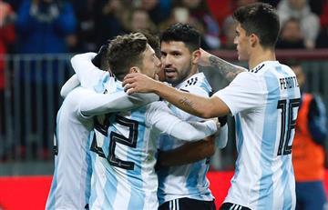 Sergio Agüero iguala a Hernán Crespo como tercer máximo goleador de la Selección