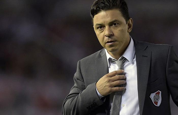 Marcelo Gallardo. Foto: AFP