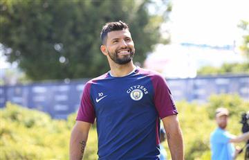 Sergio Agüero ya está recuperado