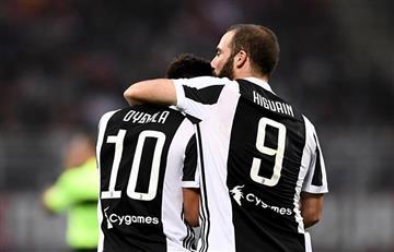 Con Higuaín y Dybala, la Juventus cayó 3-2 con la Sampdoria