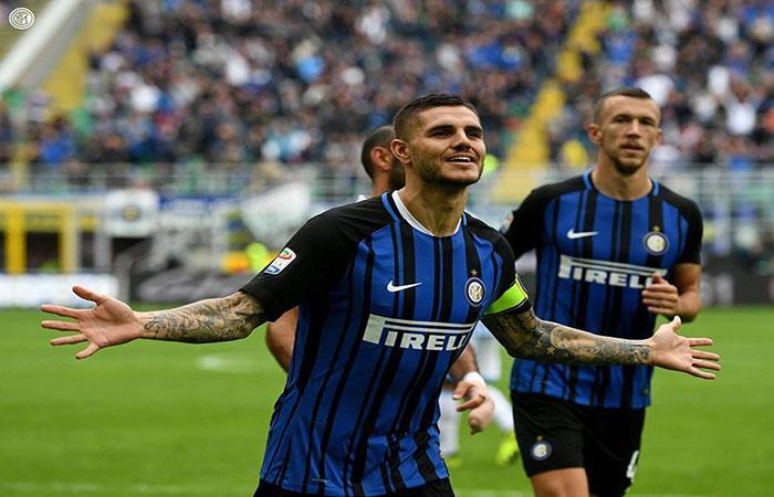 Mauro Icardi anotó en la victoria del Inter. Foto: Facebook