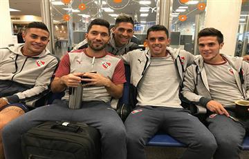 Independiente arribó a Paraguay