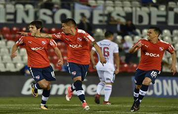 Independiente cayó 1-0 ante Libertad de Paraguay por la primera semifinal de la Copa Sudamericana