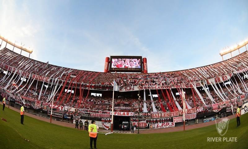 El Monumental aguarda la mejora de los de Gallardo. (FOTO: Facebook River Plate)