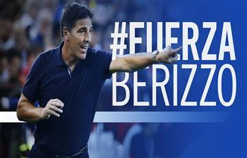 La Selección Argentina se suma a las muestras de afecto para Berizzo