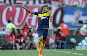 Carlos Tévez pega la vuelta