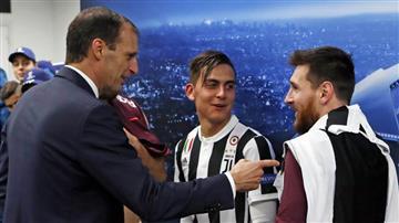 """Paulo Dybala: """"Nos sorprendió que Messi sea suplente"""""""