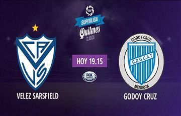 Vélez vs Godoy EN VIVO ONLINE por la fecha 12 de la Superliga