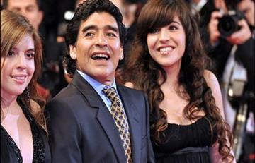 Maradona pide prisión para su propia hija