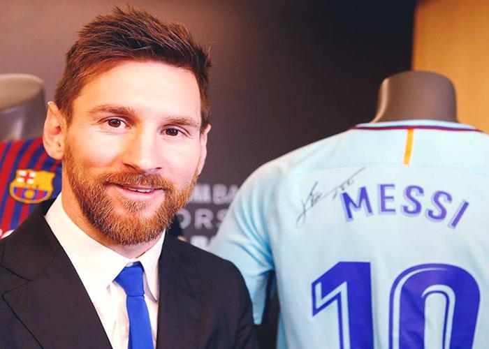 Lionel Messi, leyenda viviente del fútbol mundial. (FOTO: Facebook Barcelona)