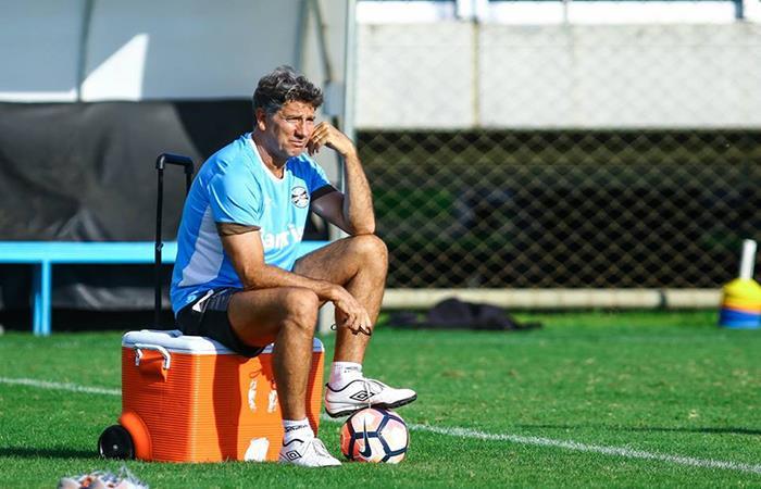 Renauto Gaúcho, DT de Gremio se siente muy confiado. Foto: Facebook