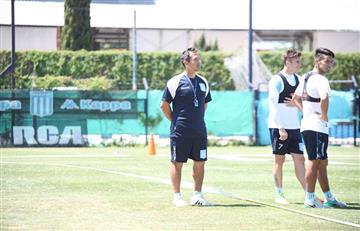 Racing ya entrena con Juan Ramón Fleita
