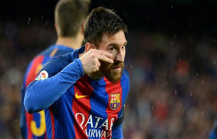 Lionel Messi. Foto: Facebook