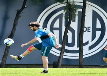 Cerutti podría jugar ante Tigre