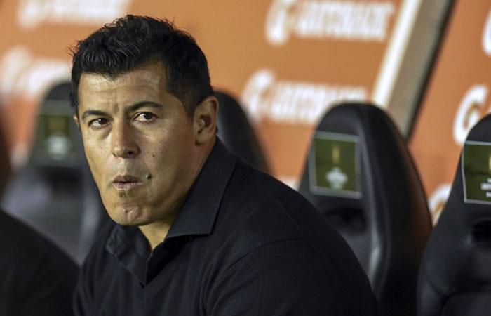 Este lunes será el partido de despedida de Jorge Almirón (Foto: AFP)