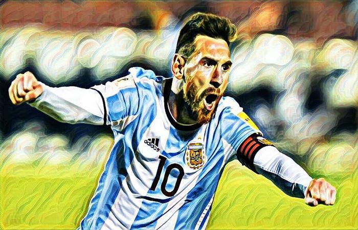 Lionel Messi sueña con el Mundial. (FOTO: Facebook Selección Argentina)