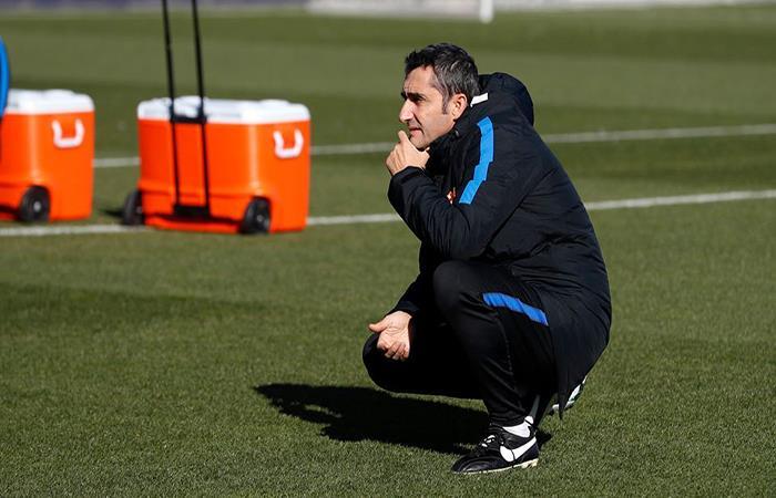 Ernesto Valverde. (FOTO: Facebook Barcelona)
