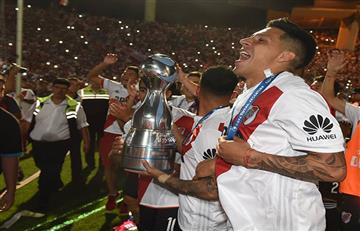 Los ex River también celebran el título de la Copa Argentina