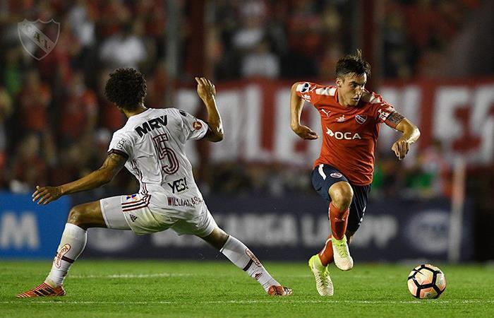 Una dura estadística que juega en contra del 'Rojo' de cara a la final por la Sudamericana. Foto: Facebook