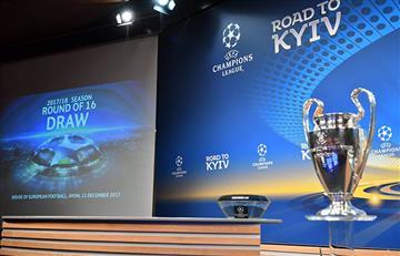 ¡Ya hay cruces por octavos de final por la Champions League!