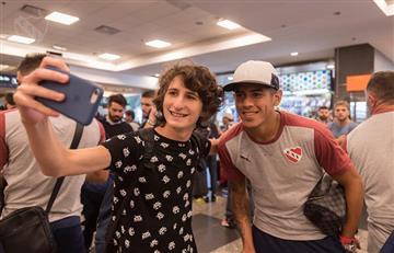 Independiente ya está en Rió de Janeiro y Ariel Holan ya prepara el equipo