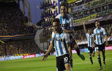 """Lautaro Martínez: """"La idea es quedarme a jugar la Libertadores"""""""