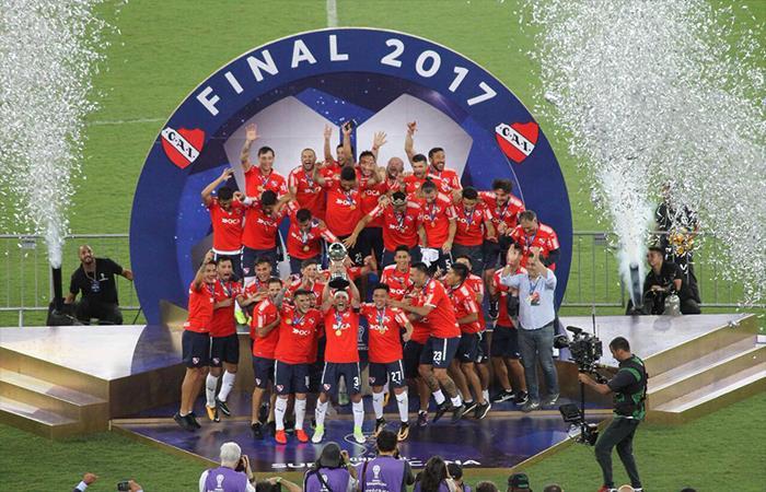 Independiente Campeón. Foto: Twitter