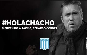 Eduardo Coudet es nuevo DT de Racing