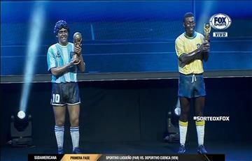 EL homenaje de la CONMEBOL hacia Diego Maradona