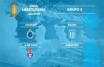 Racing y el grupo que le tocó en Libertadores