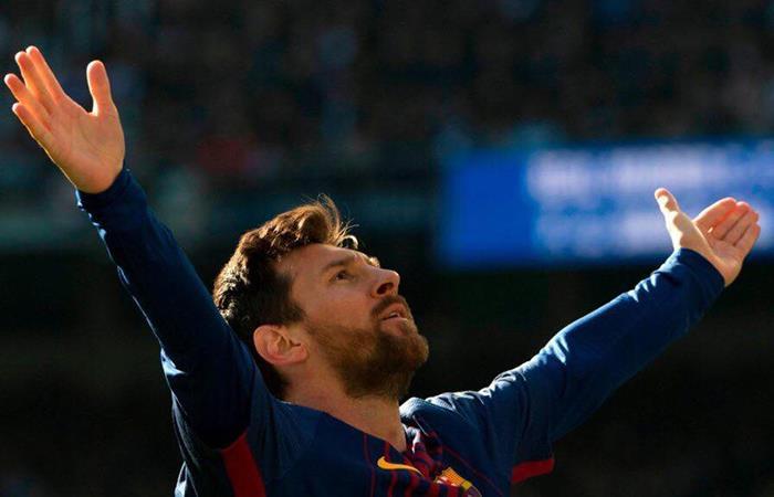 Lio Messi por ahora es el máximo goleador de Europa con 54 goles (Foto: Twitter)