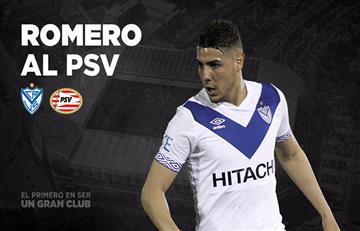 Maxi Romero fue presentado en el PSV de Holanda