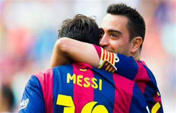 "Xavi: ""Lionel Messi es la cruz del Real Madrid"""