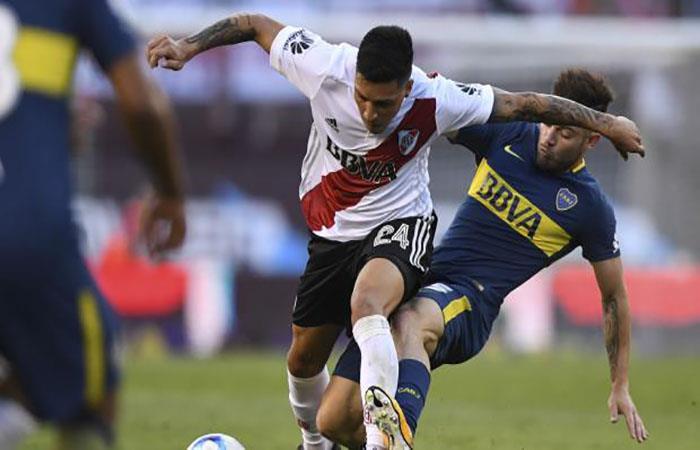 Boca y River disputarán la Supercopa Argentia. Foto: AFP