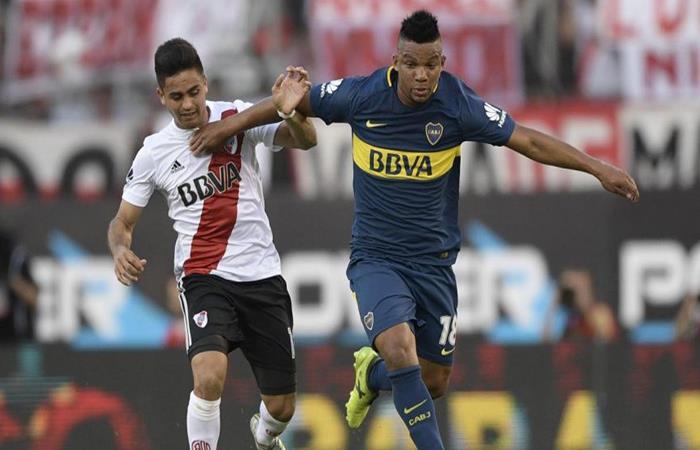Boca y River disputarán la Supercopa Argentina. Foto: AFP