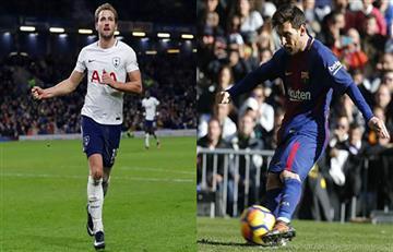 Harry Kane superó a Messi como máximo goleador del 2017